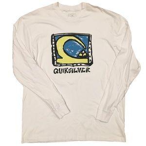 NWOT Quiksilver Wave Mountain Drawing Shirt